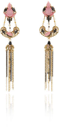 Erickson Beamon Ingenue Crystal Petal Earrings