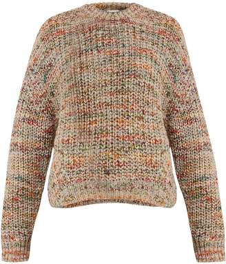 Acne Studios Zora crew-neck ribbed-knit sweater