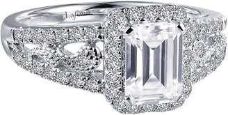 Lafonn Emerald Cut Simulated Diamond Ring