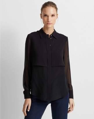 Club Monaco Bernee Silk Shirt