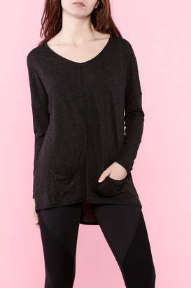 Lucy Black Long Sleeve Top $65 thestylecure.com
