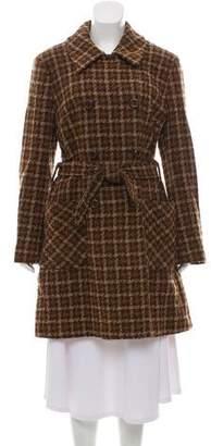 Dolce & Gabbana Wool Tweed Coat