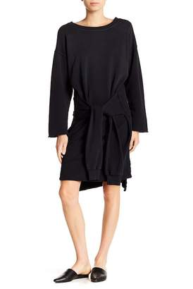 Current/Elliott Tied Front Sweater Dress