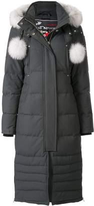 Moose Knuckles pom pom padded coat