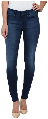 Calvin Klein Jeans Leggings in Mid Used Blue $69.50 thestylecure.com