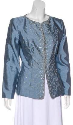Couture Liancarlo Beaded Silk Jacket w/ Tags