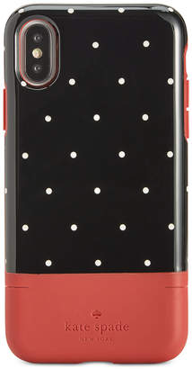 Kate Spade Pin Dot Card-Slot iPhone X Case