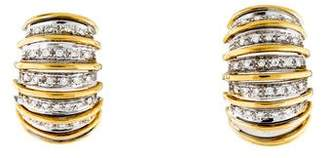 Roberto Coin 18K Diamond Earrings