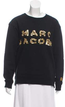 Marc Jacobs Embellished Crew Neck Sweater