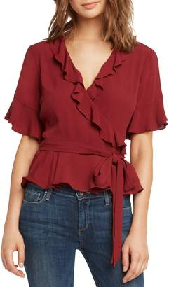 Willow & Clay Ruffle Wrap Top