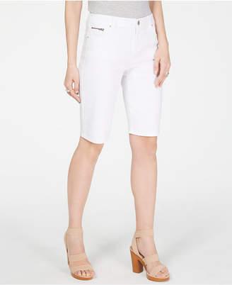 cc86ed70aaa INC International Concepts I.n.c. Denim Bermuda Shorts