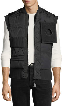 Moncler Trish Quilted Utility Vest