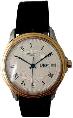 Chaumet Ecru gold and steel Watches