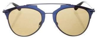 Christian Dior Reflected Logo Sunglasses