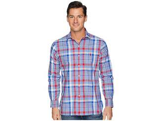 Polo Ralph Lauren Button Down Pony Player Spread Estate Poplin Long Sleeve Sport Shirt in Classic Fit