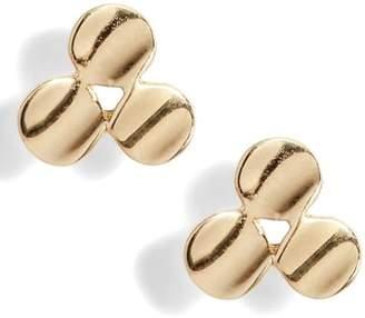 Bony Levy Clover Stud Earrings