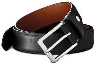 Shinola Brindle Leather Bombe Tab Belt
