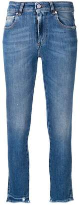 RED Valentino skinny fit mid rise jeans
