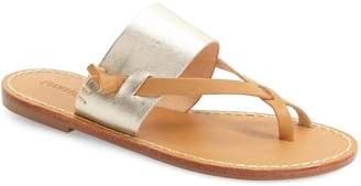 Soludos 'Slotted' Thong Sandal