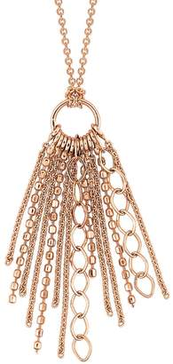 ginette_ny Unchained Necklace - Rose Gold