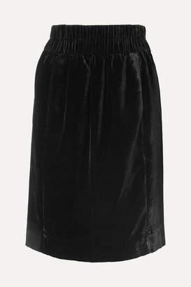 J.Crew Velvet Skirt - Black