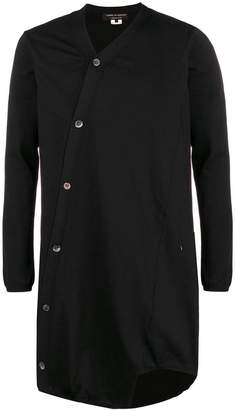 Comme des Garcons asymmetric button-down cardigan