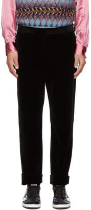 Golden Goose Black Velvet Trousers