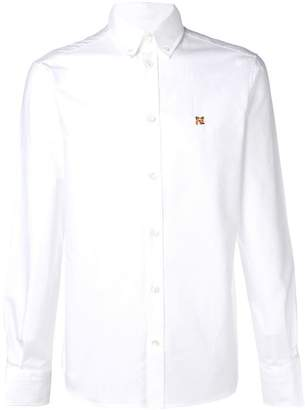 MAISON KITSUNÉ logo button down shirt