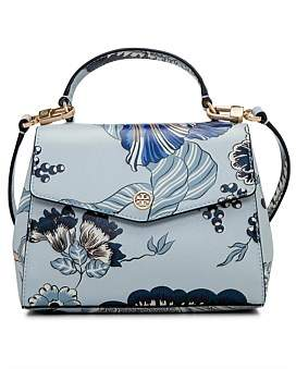 Tory Burch Robinson Floral Top Handle Satchel