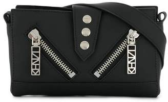 Kenzo zipped mini shoulder bag