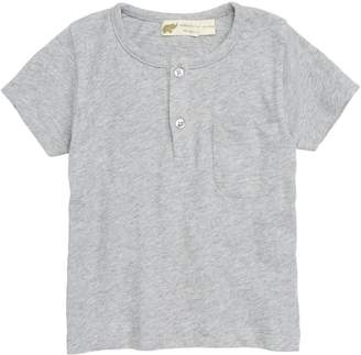 MONICA + Andy Organic Cotton Henley T-Shirt