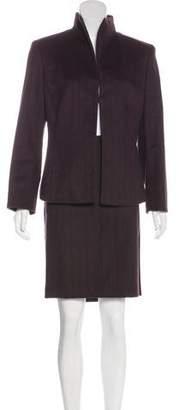 Akris Knee-Length Skirt Suit