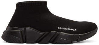 Balenciaga Black Speed Low Sneakers