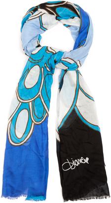 DIANE VON FURSTENBERG Grace scarf $168 thestylecure.com