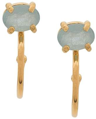 Wouters & Hendrix aquamarine earrings