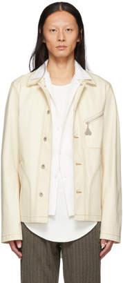 Loewe Off-White Denim Botanical Jacket