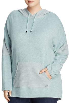 Andrew Marc Plus Thermal Inset Hooded Tunic