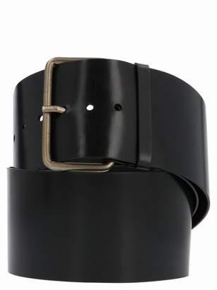 Ann Demeulemeester Wide Buckle Belt