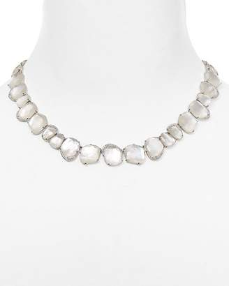 Nadri Mother-of-Pearl Collar Necklace, 16""