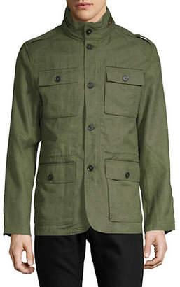 HAIGHT & ASHBURY Linen Safari Sport Jacket