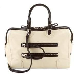 Valentino Top Handle Light Ivory Shoulder Bag