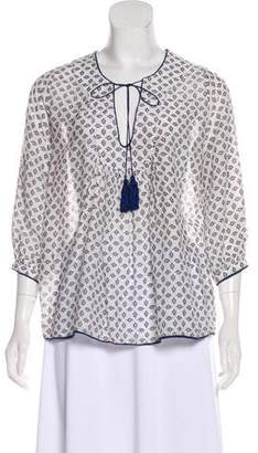 Talitha Printed Long Sleeve Blouse