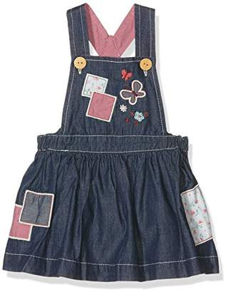 Pumpkin Patch Baby Girls 0-24m Patchwork Denim Pinnie Dress,(Manufacturer Size:0-3M)