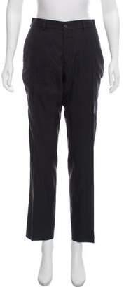 Ralph Lauren Wool Straight-Leg Pants