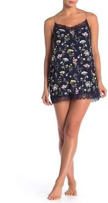 PJ Salvage Floral Lace Trim Chemise