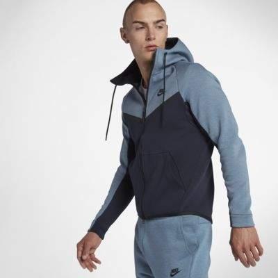 Nike Nike Sportswear Tech Fleece Windrunner Men's Full-Zip Hoodie Size Small (Grey) - Clearance Sale
