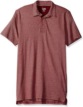 Lee Men's Short Sleeve Super Soft Polo