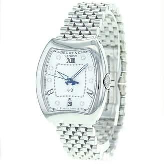 Bedat & Co Bedat Women's 315.011.109 No. 3 Steel Bracelet Automatic Diamond Dial Watch