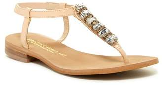 Kristin Cavallari by Chinese Laundry Grace Embellished Leather Sandal