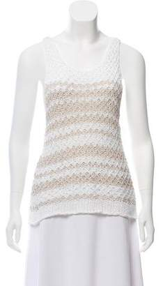 Rag & Bone Open-Knit Tank Top